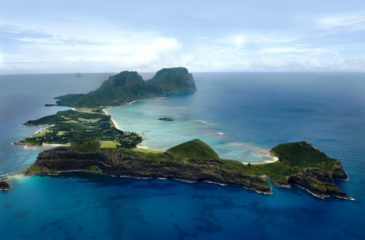 Aerial view  Photo Credit: Lord Howe Island